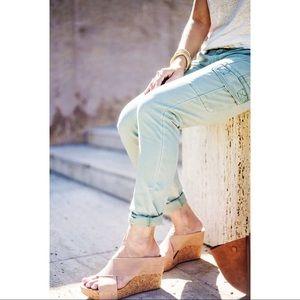 CAbi Celedon Green Cargo Pants